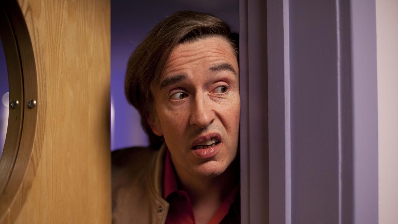 Steve Coogan as Alan Partridge.