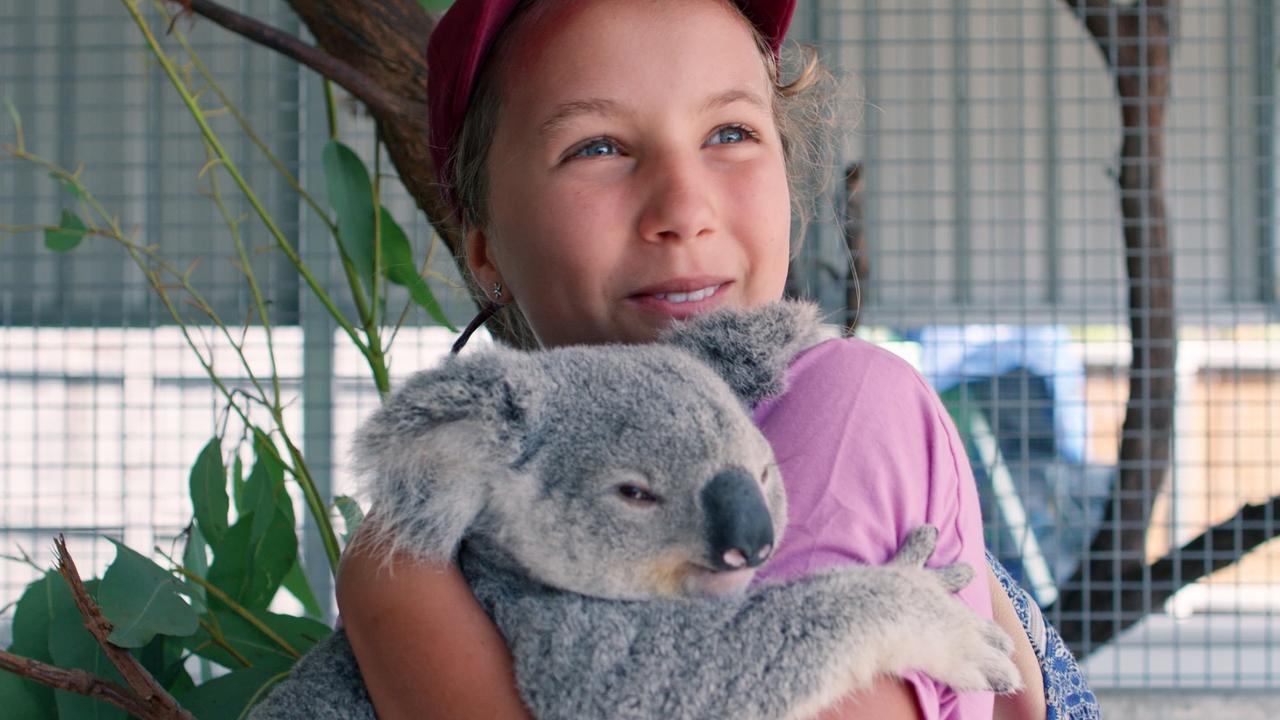 Izzy Bee will star in Netflix show Izzy's Koala World. Photo: Netflix