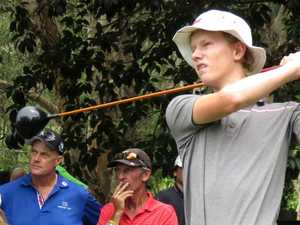 Coast junior flies flag for Qld in national golf comp