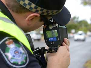 High-range speedster hit with 13 demerit point loss