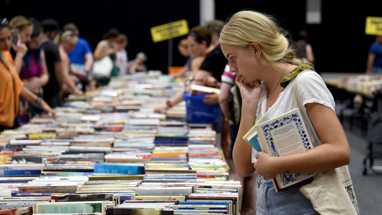 Book lovers will be disappointed with news that one of the largest second-hand book sales in the southern hemisphere has been shelved.