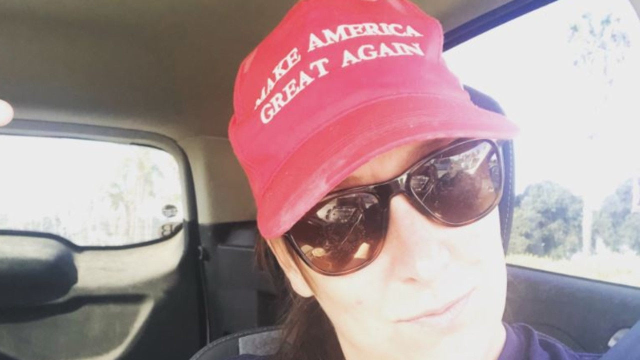 Ashli Babbitt was a Trump supporter. Picture: twitter/@ashli_babbit