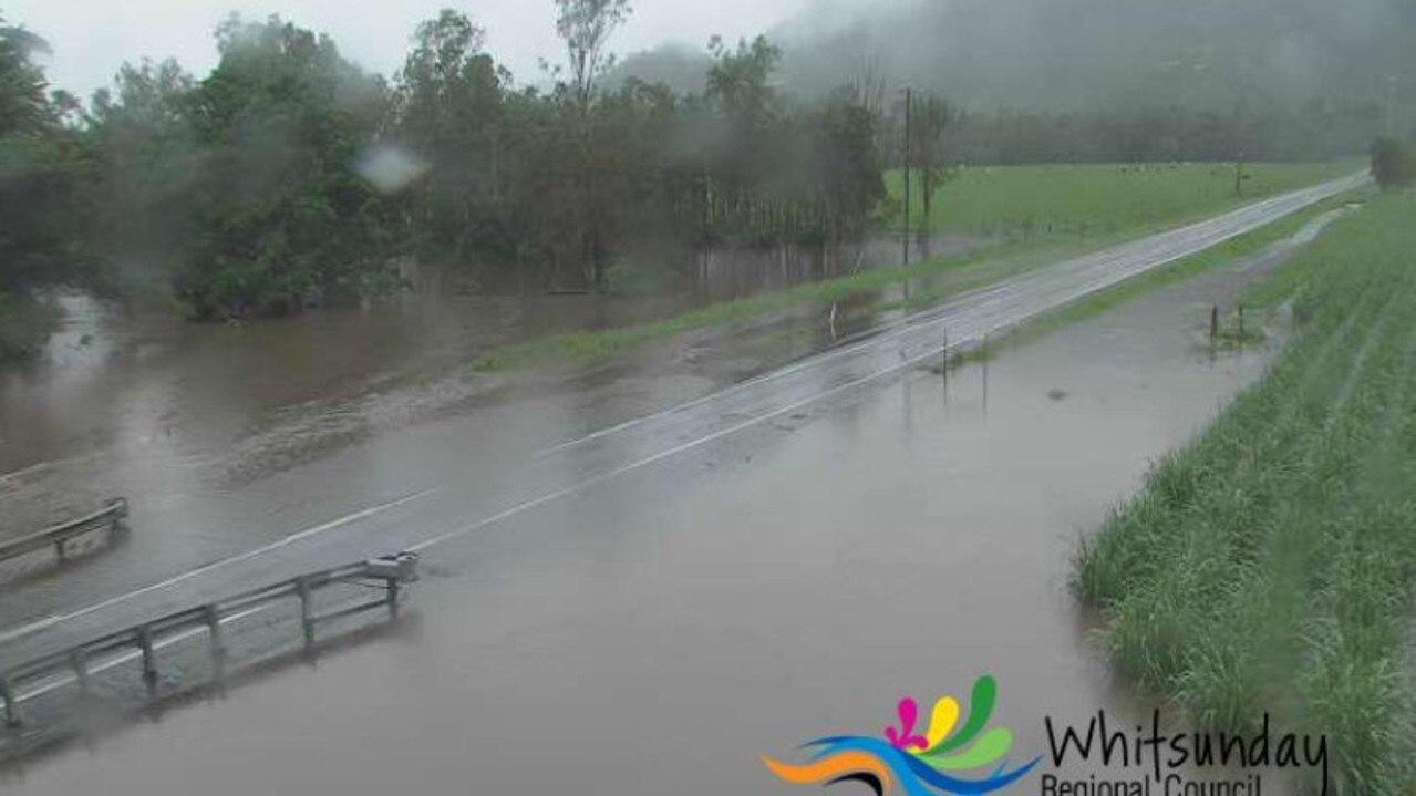 Crofton Creek Bridge at 10am on Thursday.