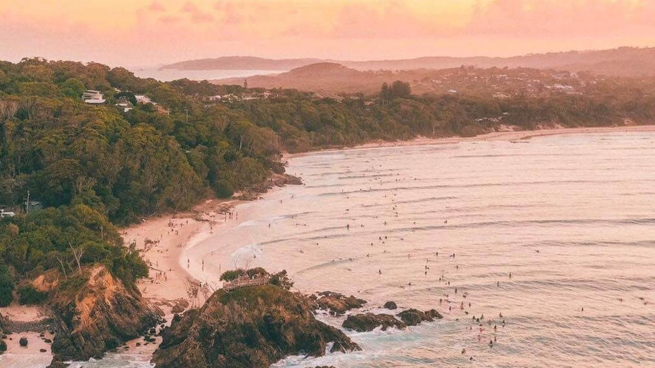 A $60m beach house planned for Byron Bay has just hit the market. Image: Saxon Kent.
