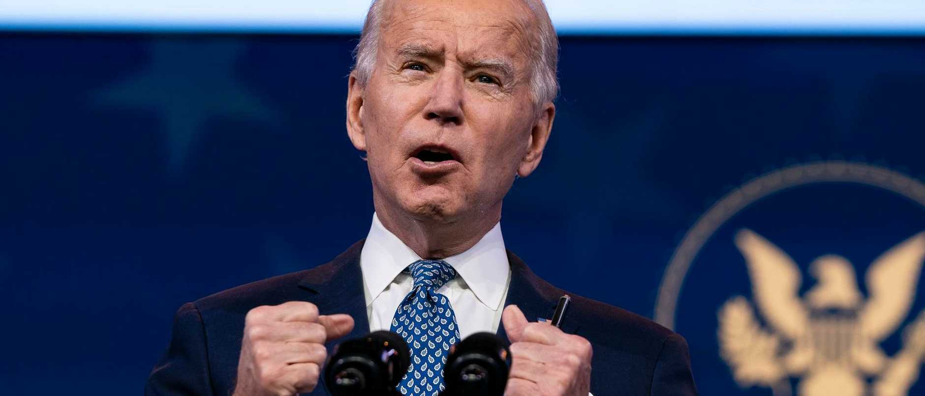 Joe Biden and Kamala Harris deliver remarks before the holiday
