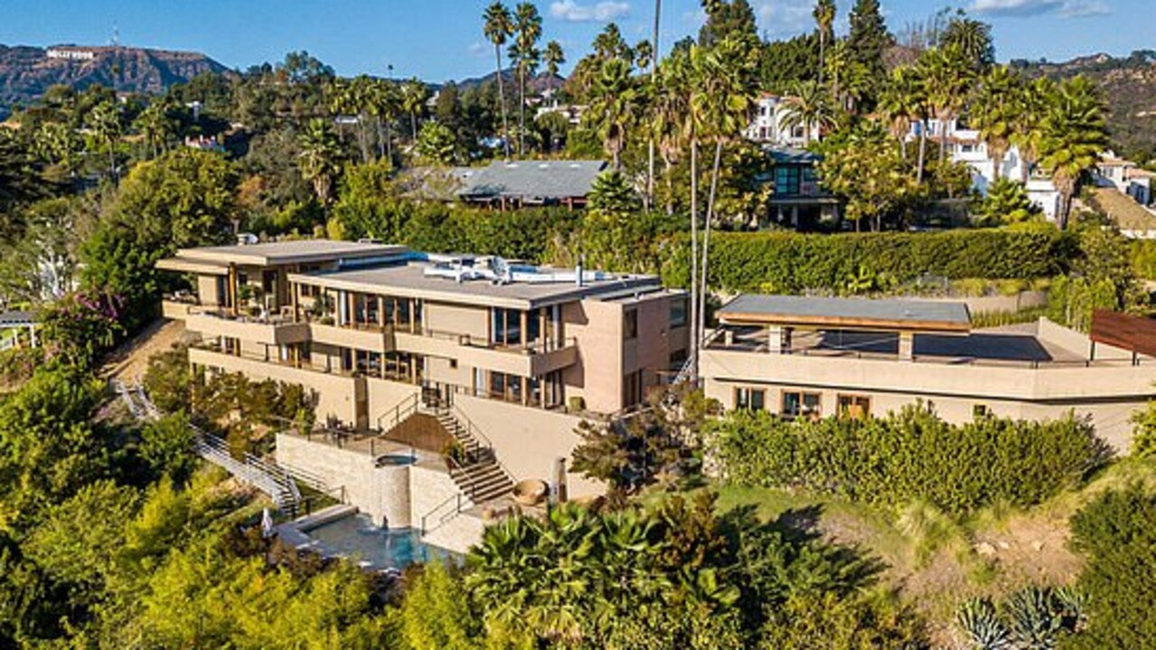 Zac Efron's LA home is now on the market. Picture: Realtor.