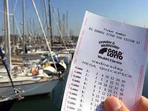 'Insane': Gladstone fisherman reels in massive lotto win