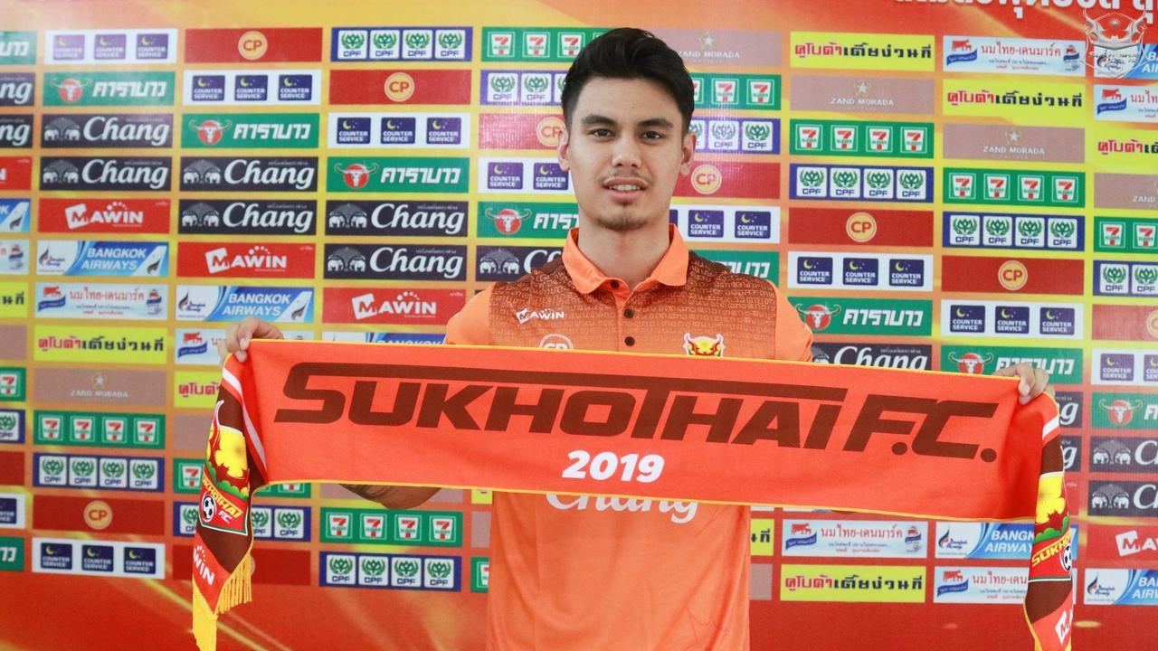 Joshua Grommen signs with Thai Premier League club Sukhothai.