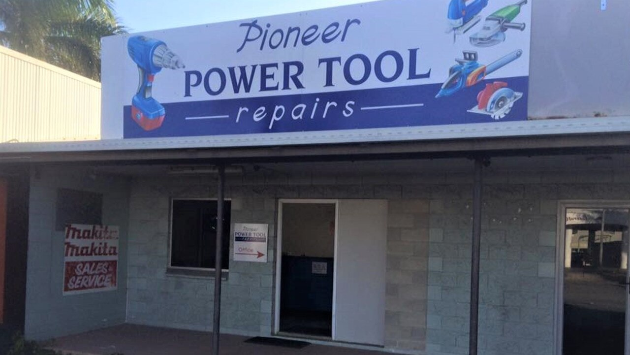 Pioneer Power Tool Repairs closed its doors on December 18, 2020 after 28 years of operating in Mackay. Picture: Contributed