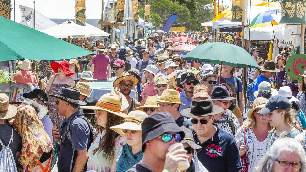 Bushtime was meant to offer an alternative to the iconic Woodford Folk Festival. Picture: Lachie Millard