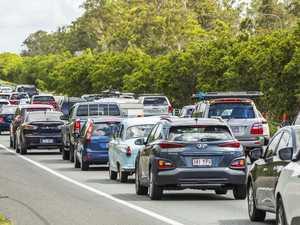 Highway gridlock: Drivers race back to Brisbane