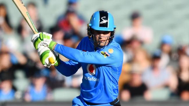 Alex Carey hit 42 off 25 balls.
