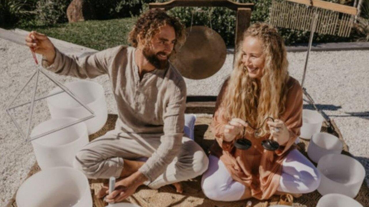 Seriya Cutbush and Matty Rainbow will offer a deeply nourishing sound healing workshop at the Starlight Festival.