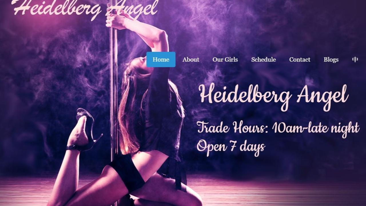Three workers at the Heidelberg Angel brothel are accused of hiring a 16-year-old who responded to an ad for an assistant dominatrix.