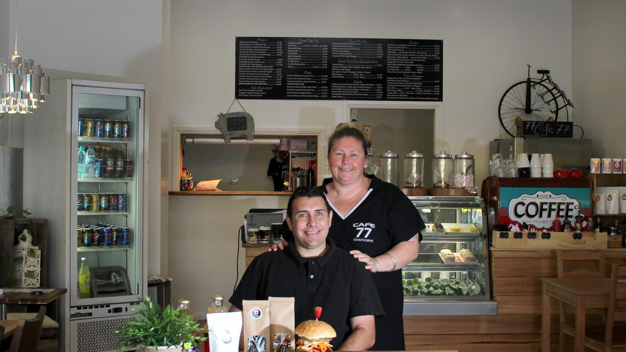Toby and Tammy Robinson are previously known for Cafe 77 and Farmhouse Cafe & Co.