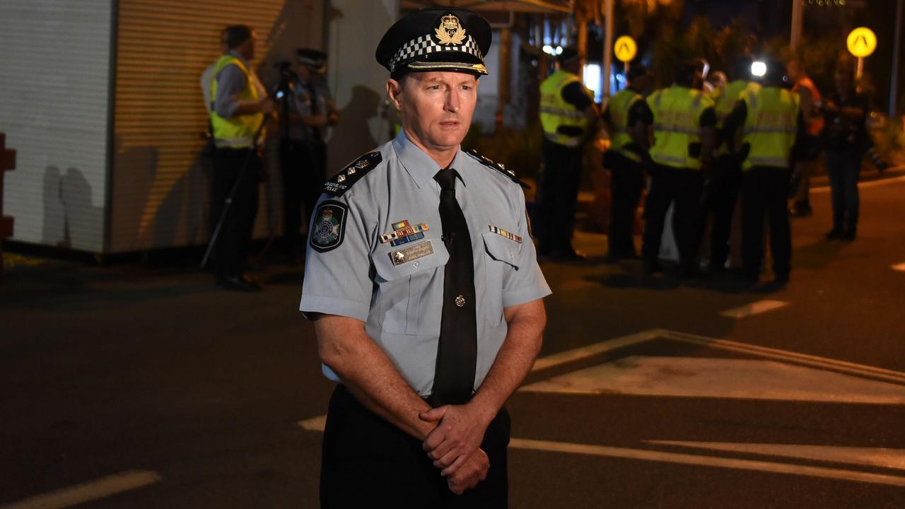 "Police Chief Superintendent Mark Wheeler says he doesn't think it's ""too much to ask"" for Brisbane residents to stay home for thee days. Picture: NCA NewsWire, Steve Holland."