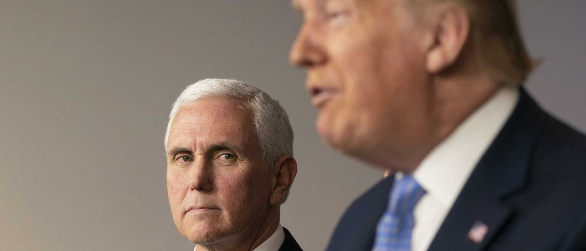 One defiant act by Vice President Mike Pence kicked off a catastrophic chain of events that left four dead and US democracy in tatters.