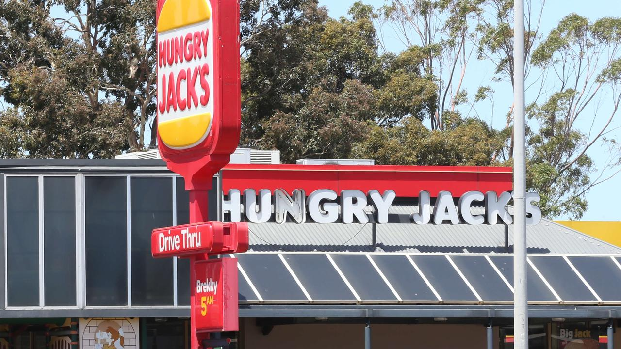 Staff and customers at a Hungry Jack's in the northeastern suburbs felt their throats burning after breathing something similar to pepper spray last night.