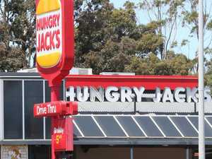 Hungry Jacks evacuated after chemical attack