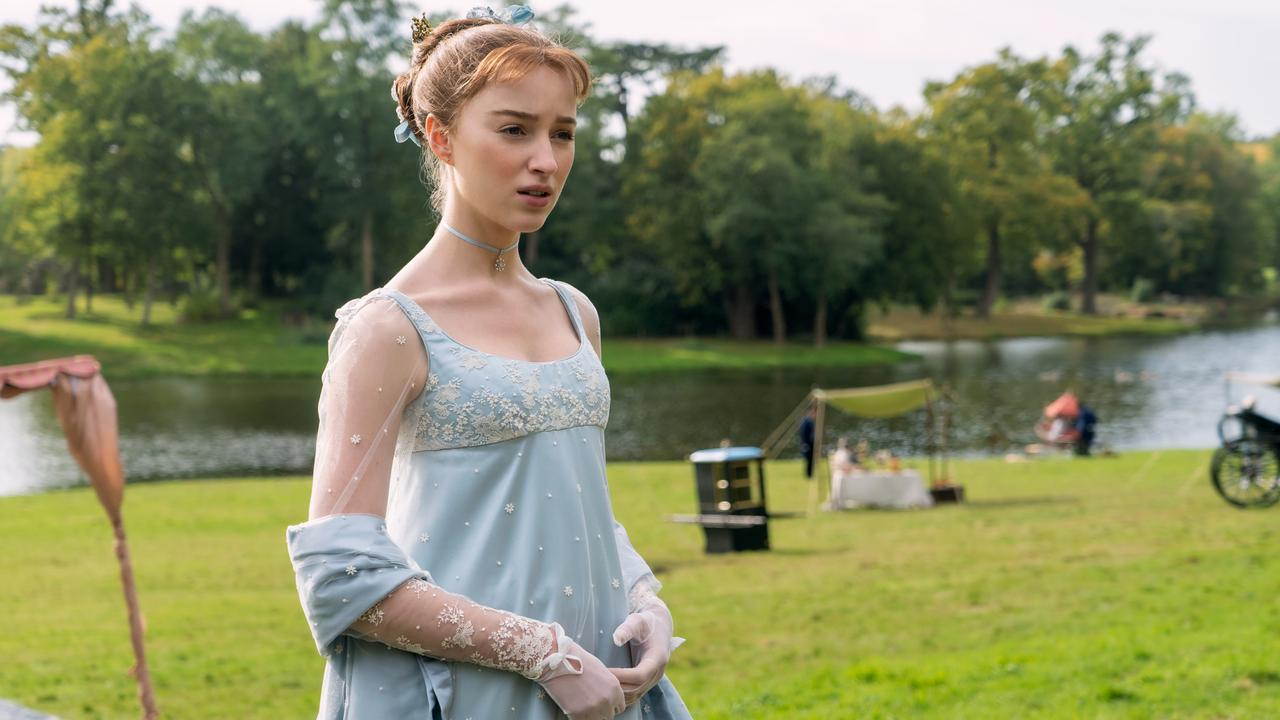 Phoebe Dynevor as Daphne Bridgerton. Picture: Liam Daniel/Netflix