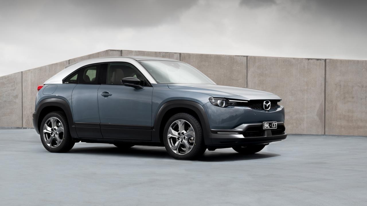 2021 Mazda MX-30.