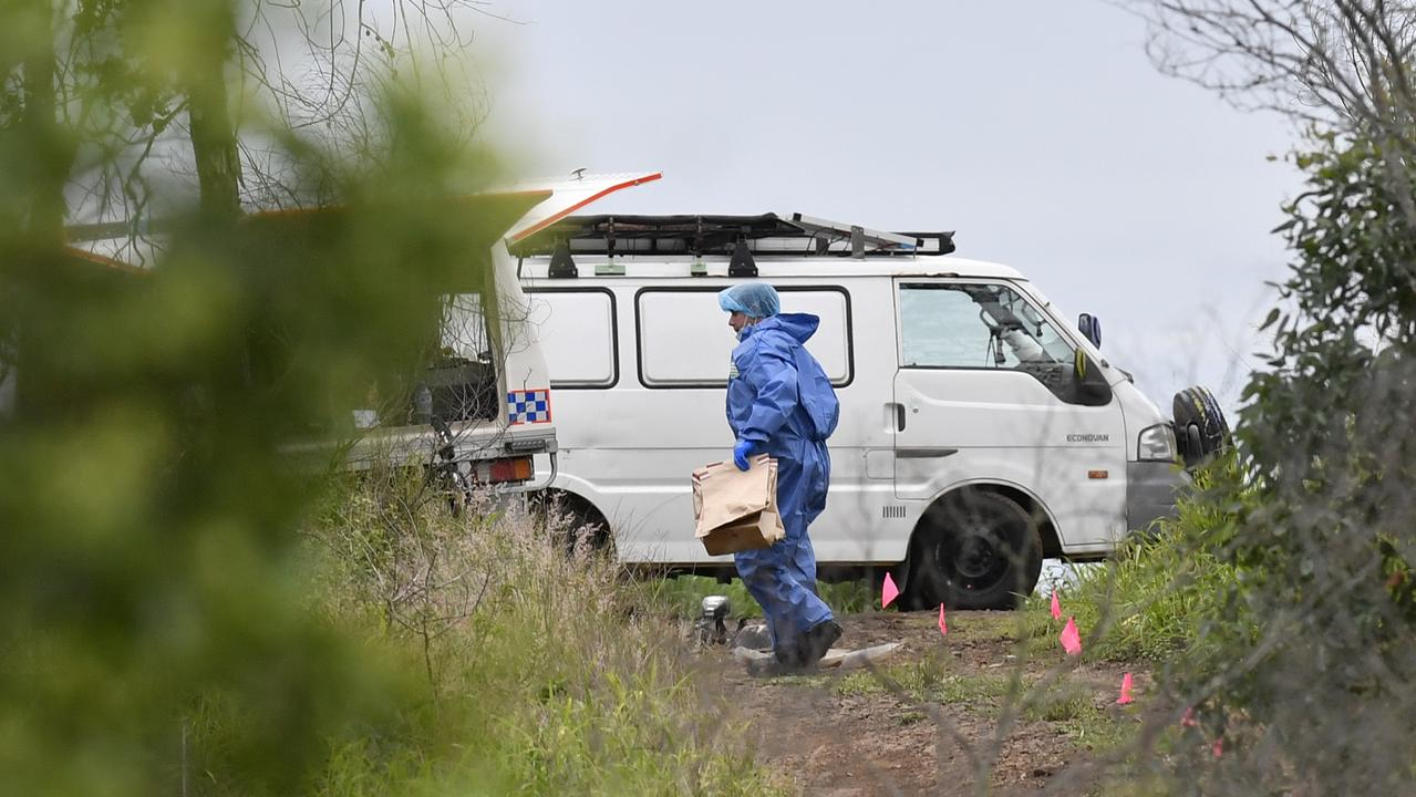 A man's body was found in the bush.
