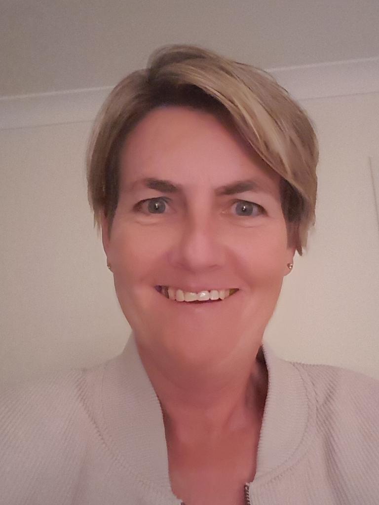 Gympie cancer survivor Rebecca Creighton.
