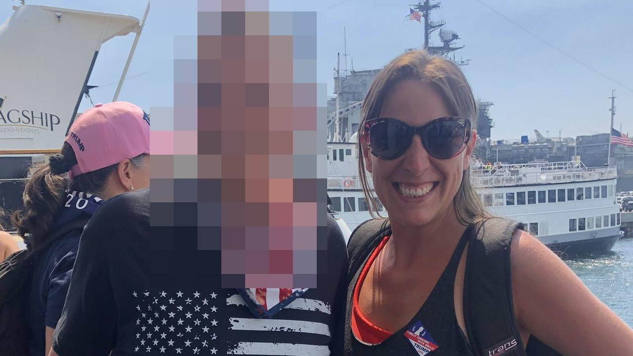 Footage has emerged of the pro-Trump fan being shot by police during the US Capitol riots as her troubled past has also been revealed.