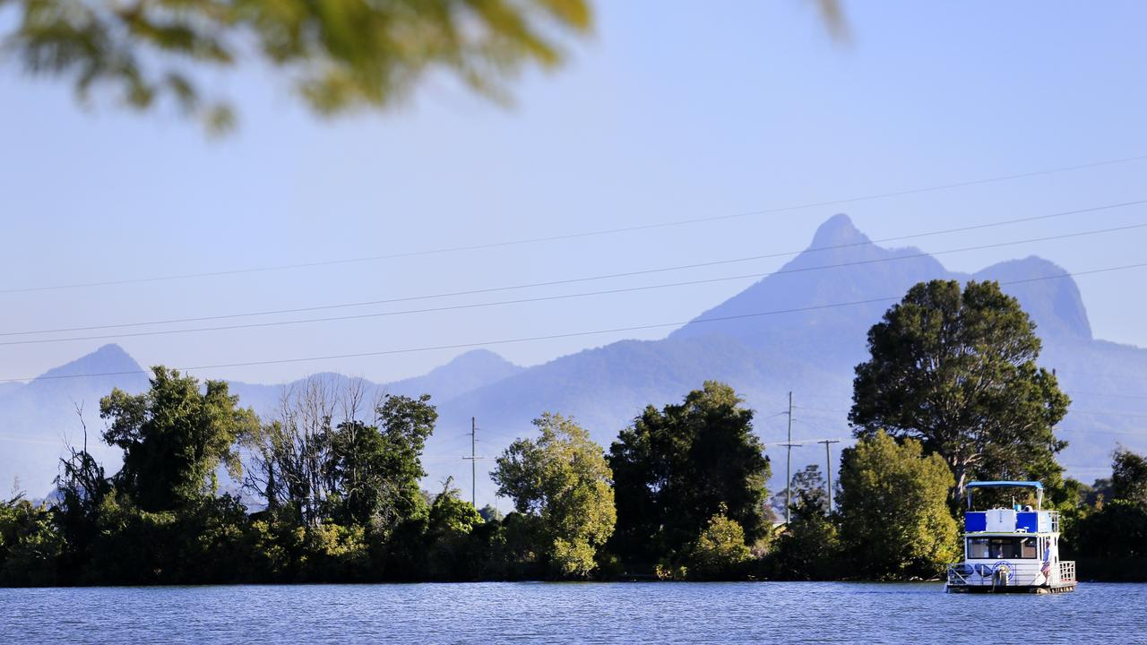 Mount Warning seen from Tumbulgum in the Tweed Valley. Picture: supplied.