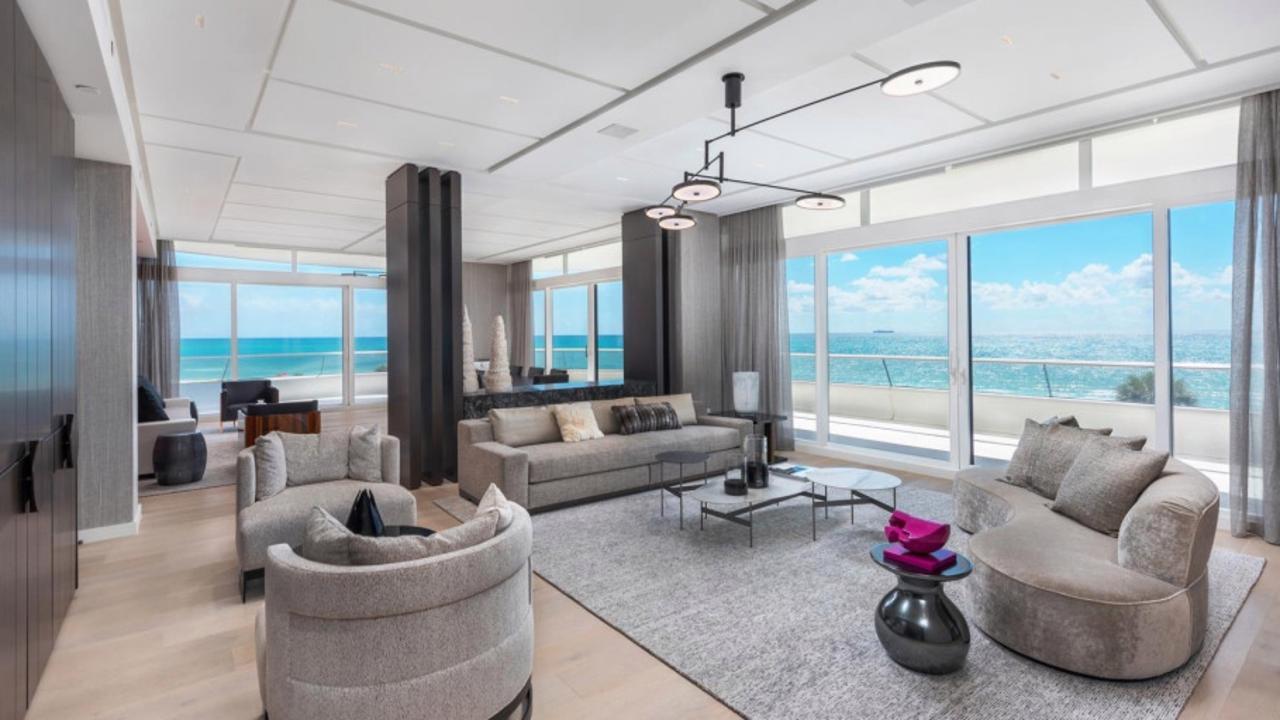 The Miami apartment Kanye bought Kim.