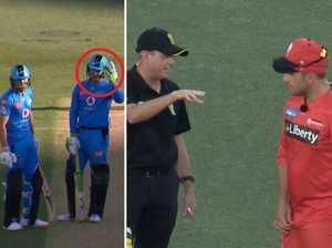 'Great sportsmanship' after major error