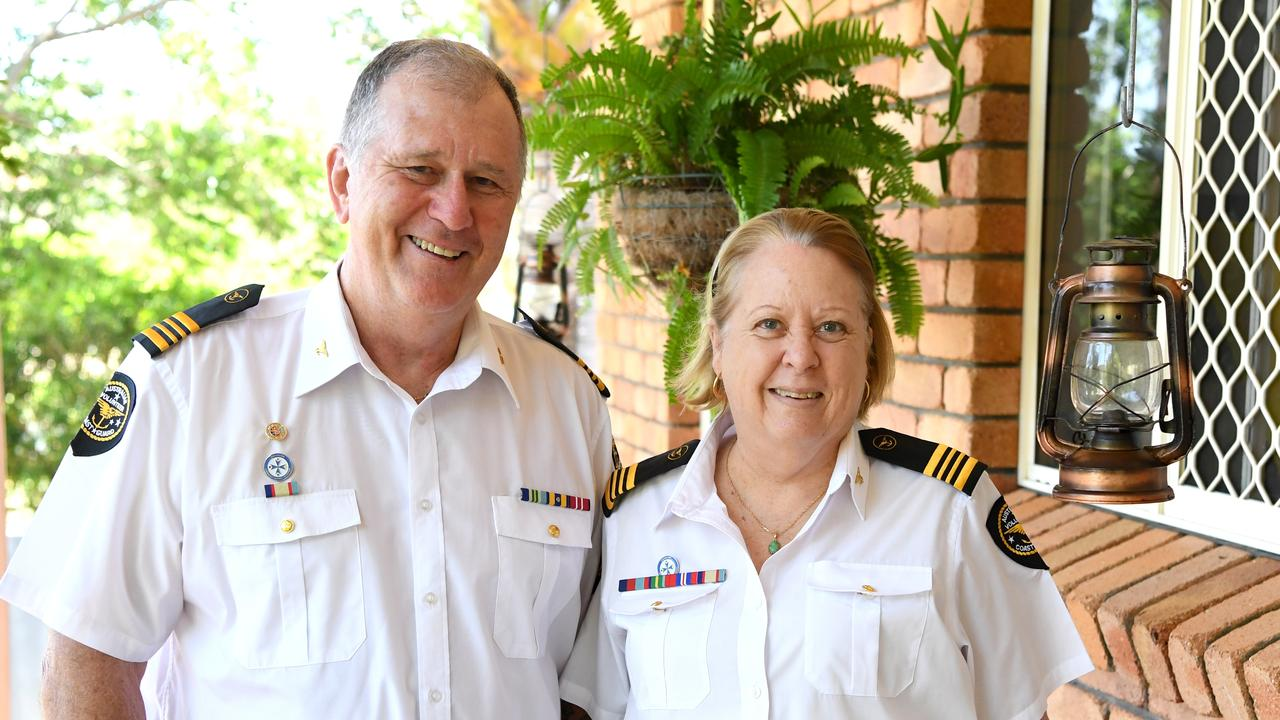 Keith and Lynn Neven called for more Coast Guard volunteers