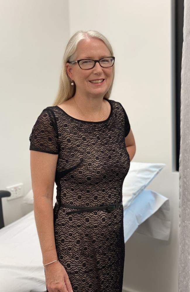 Dr Margie McGrath, medical oncologist at Brisbane's Princess Alexandra Hospital.