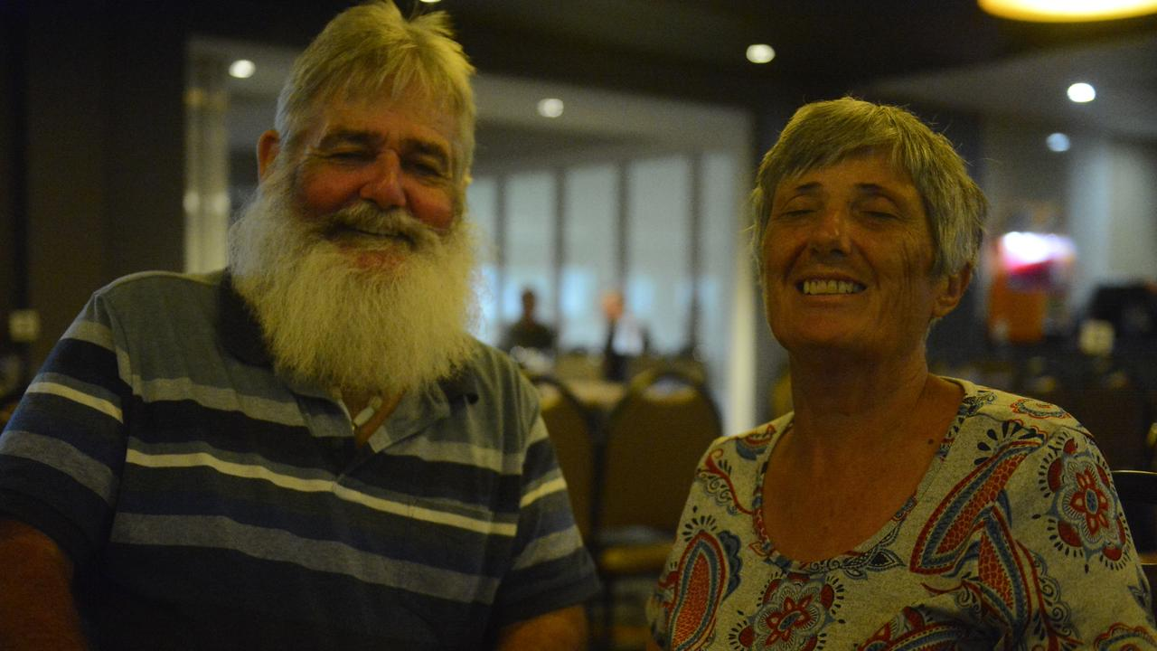 Tom and Myriem Murray, of Mirani, have been regulars of Western Suburbs Leagues Club for eight years. Photo: Callum Dick