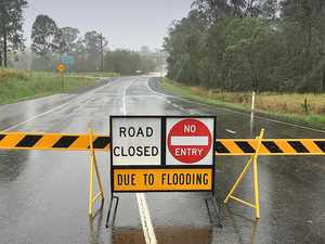 Western Downs: List of flooded roadways