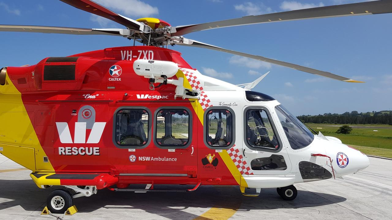 Emergency services were called to a serious crash at Byron Bay.
