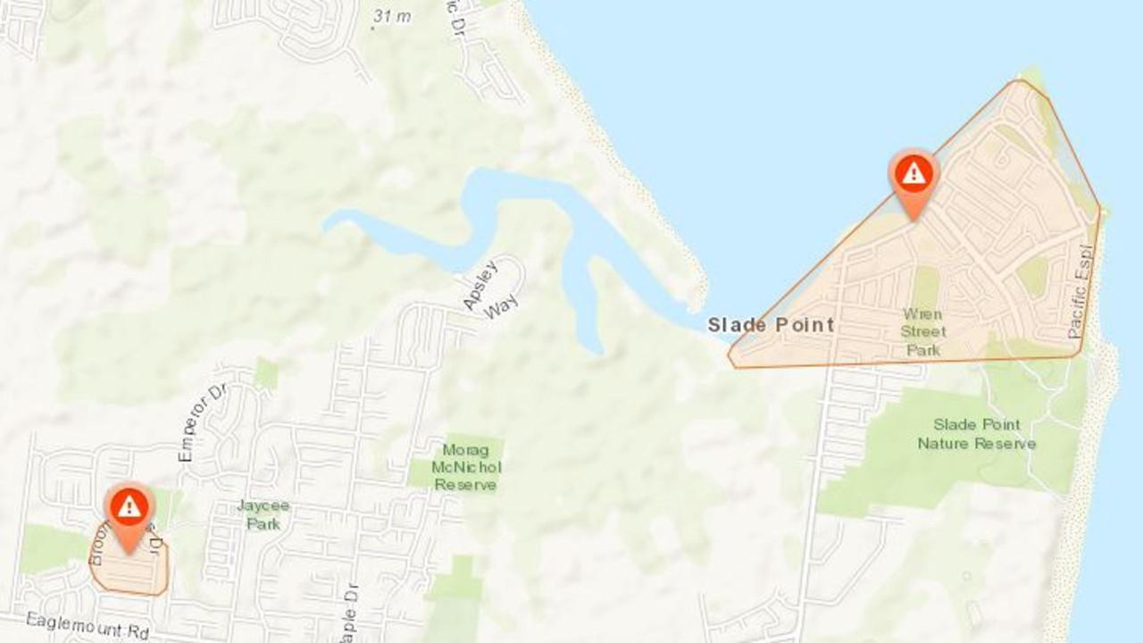 Ergon Energy outage finder: Mackay, January 10, 2021.
