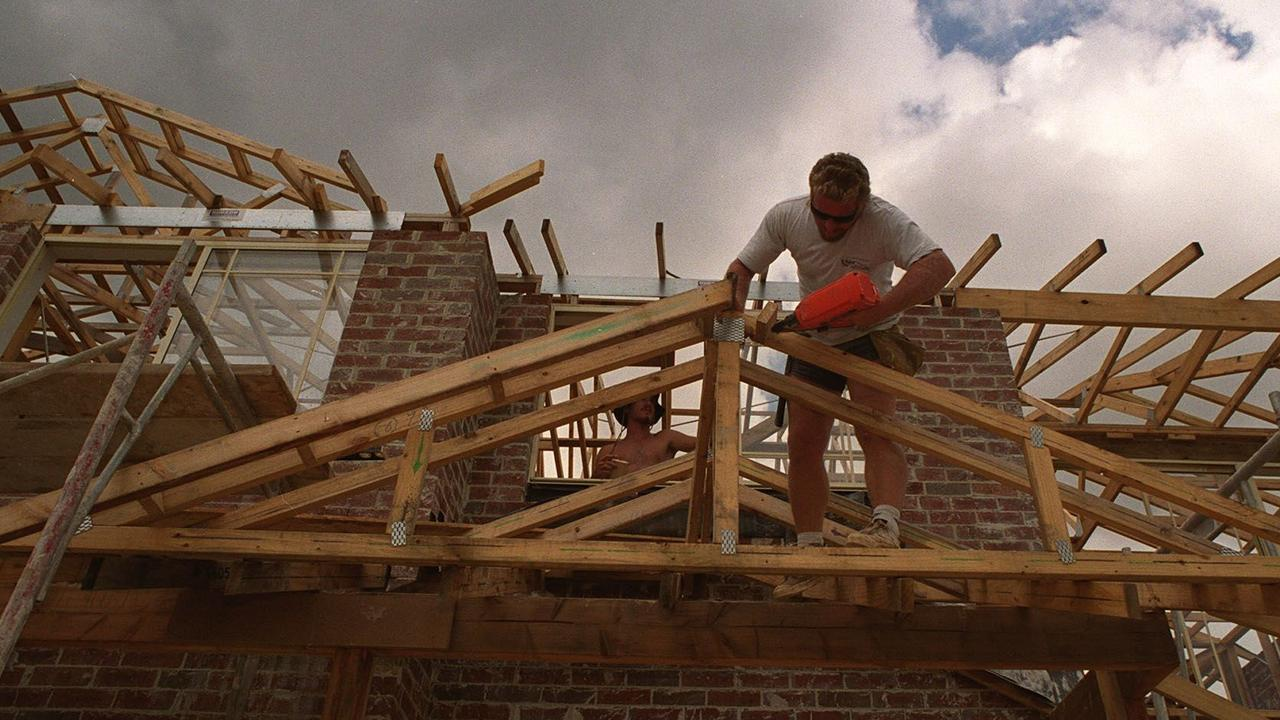 Demand for new dwellings is up 48 per cent in the Wide Bay-Burnett region, with the building industry kicking off the new year on a high note. Photo: File.