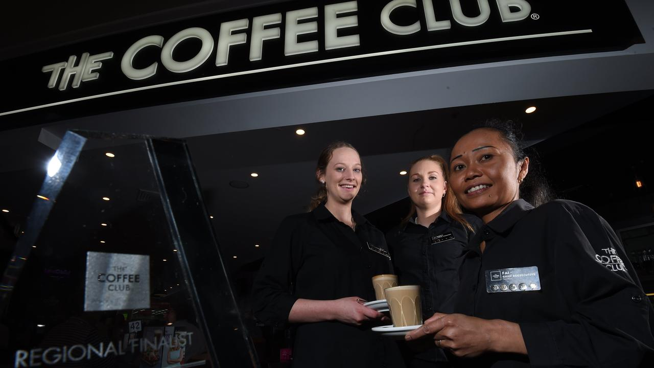 The Coffee Club at Booval and Riverlink are open for business.