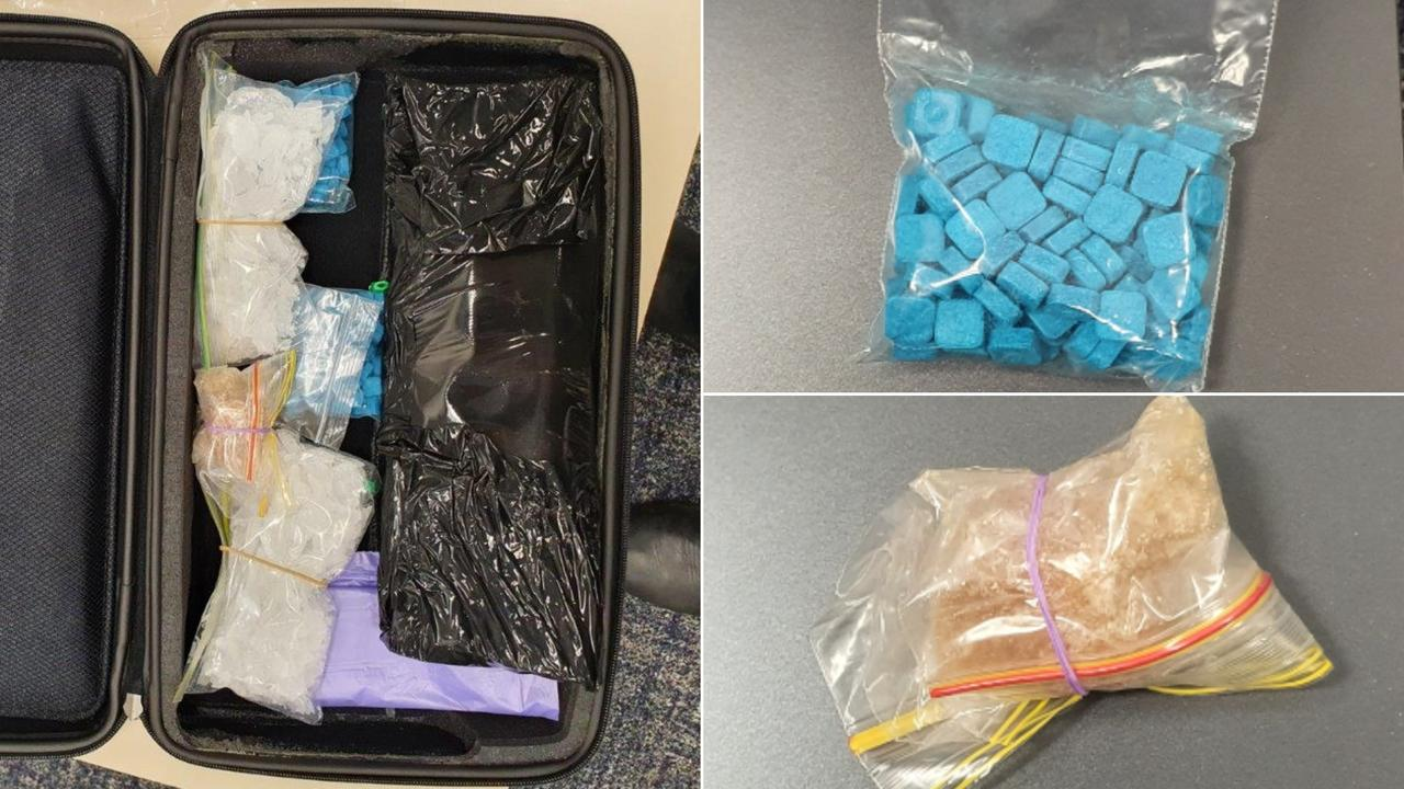 A man has been denied bail after police found drugs in a lockbox under a ute.