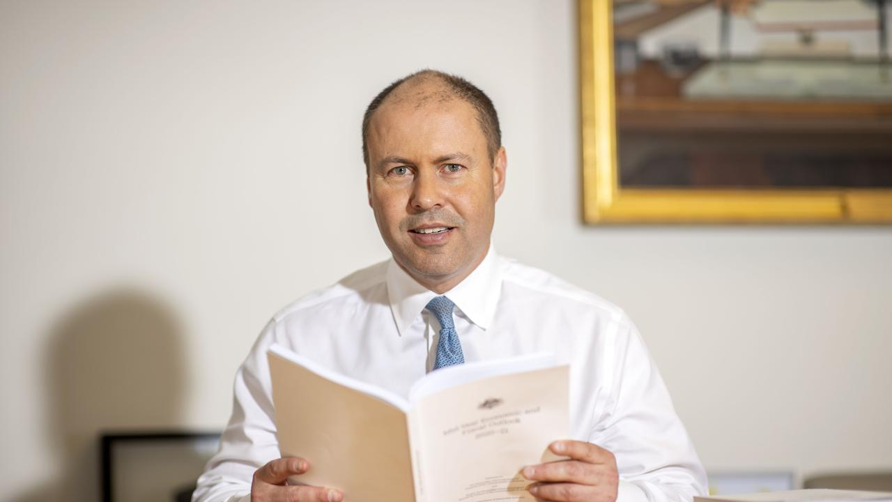 Treasurer Josh Frydenberg is spruiking the tax cuts.