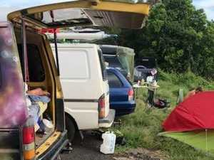 1400+ fines in just 9 days: Illegal campers invade Byron