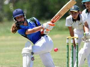 Photos: Talent shines at girls' cricket carnival