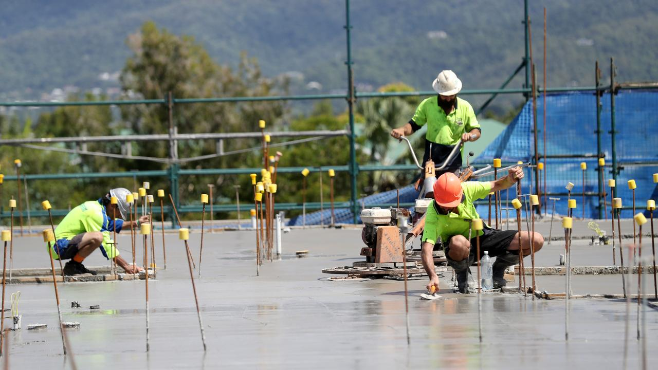 Unlicensed concreter Paul Coplick is the subject of a warning from the state's building watchdog. PICTURE: FILE PHOTO