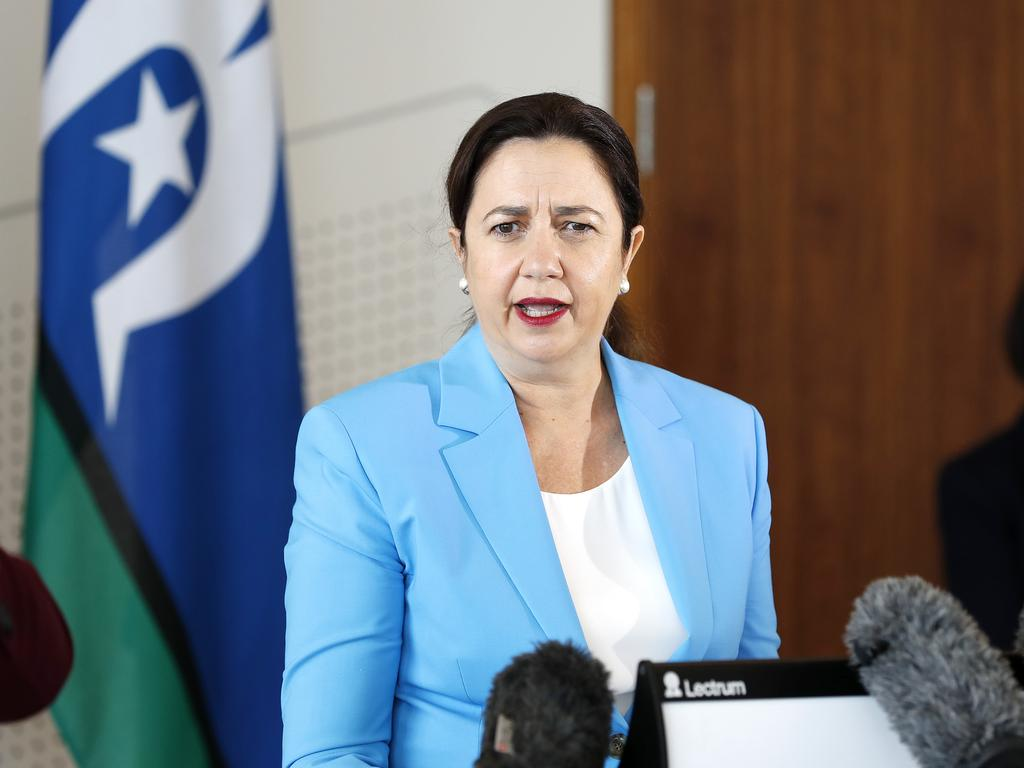 Queensland Premier Annastacia Palaszczuk has pledged to do whatever it takes to keep the UK strain out of the community. Picture: NCA NewsWire / Josh Woning