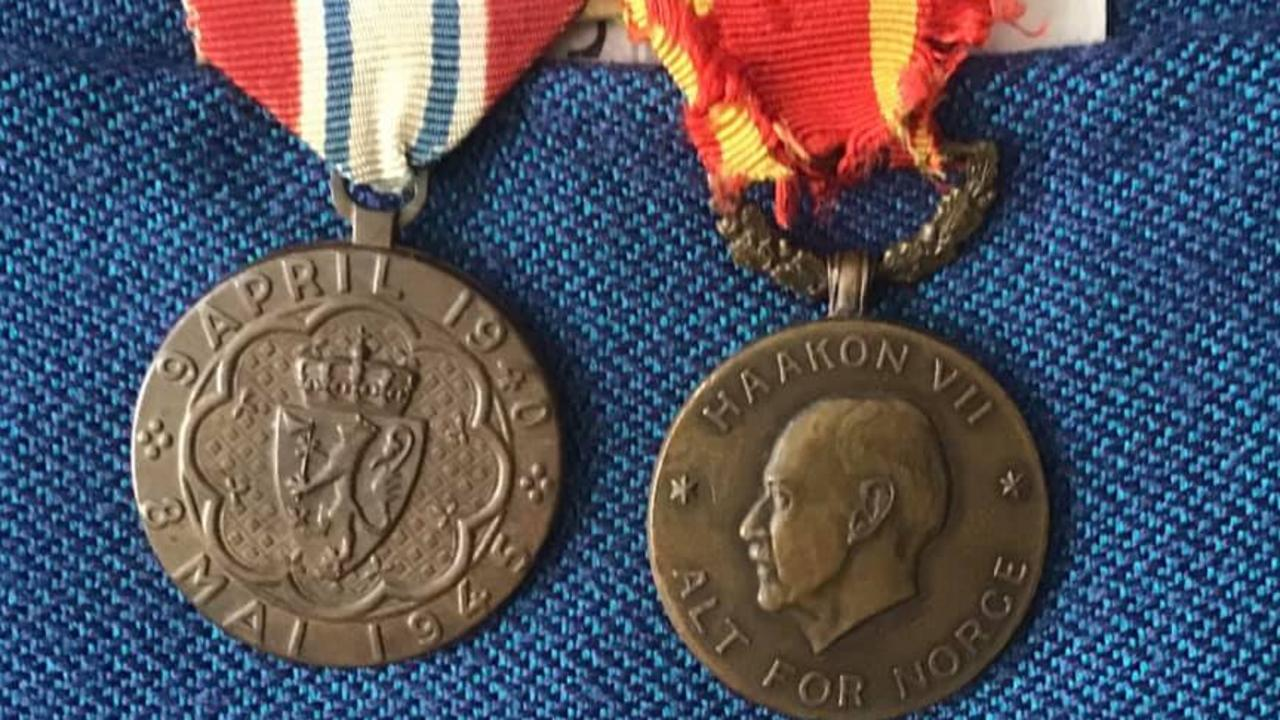 MEDALS SAFE: The Australian War Memorial has accepted Frederick Bradley Finch's medals and books after he passed away aged 93 in 2020.