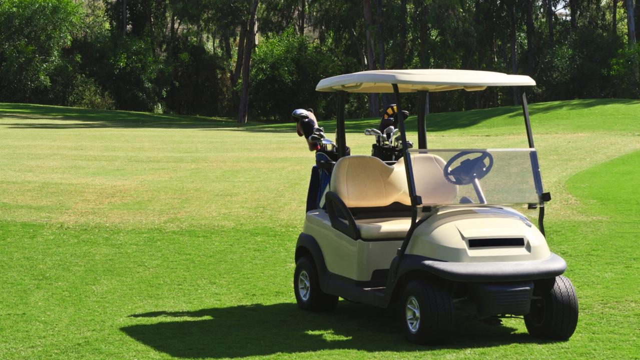 Teenagers used a hired golf cart to cause $4500 worth of damage to Middlemount Golf Course, before mowing down geese local to the course. Picture: File