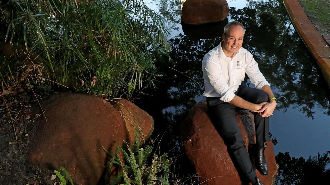 South32 boss Graham Kerr. Pic Colin Murty The Australian