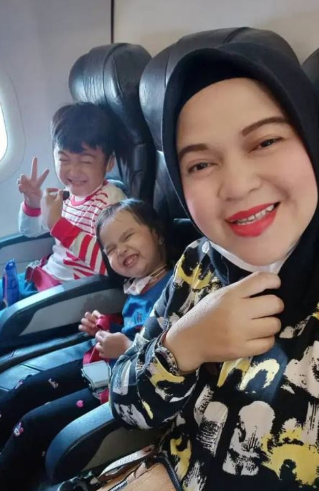 Rathi Windania and two of her children are feared dead.