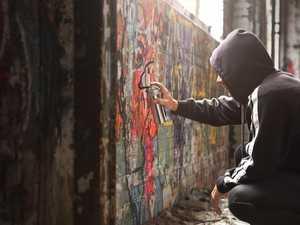 DISGUSTING: Graffiti vandals target Chinchilla home